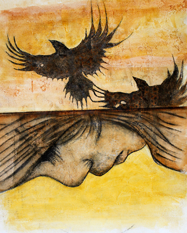 Cuervo que nace.